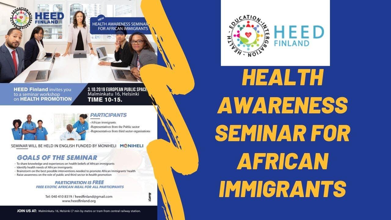 Health Promotion Seminar
